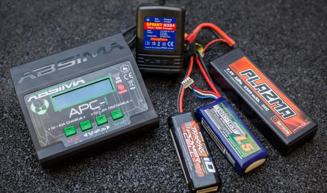 remote control battery charger