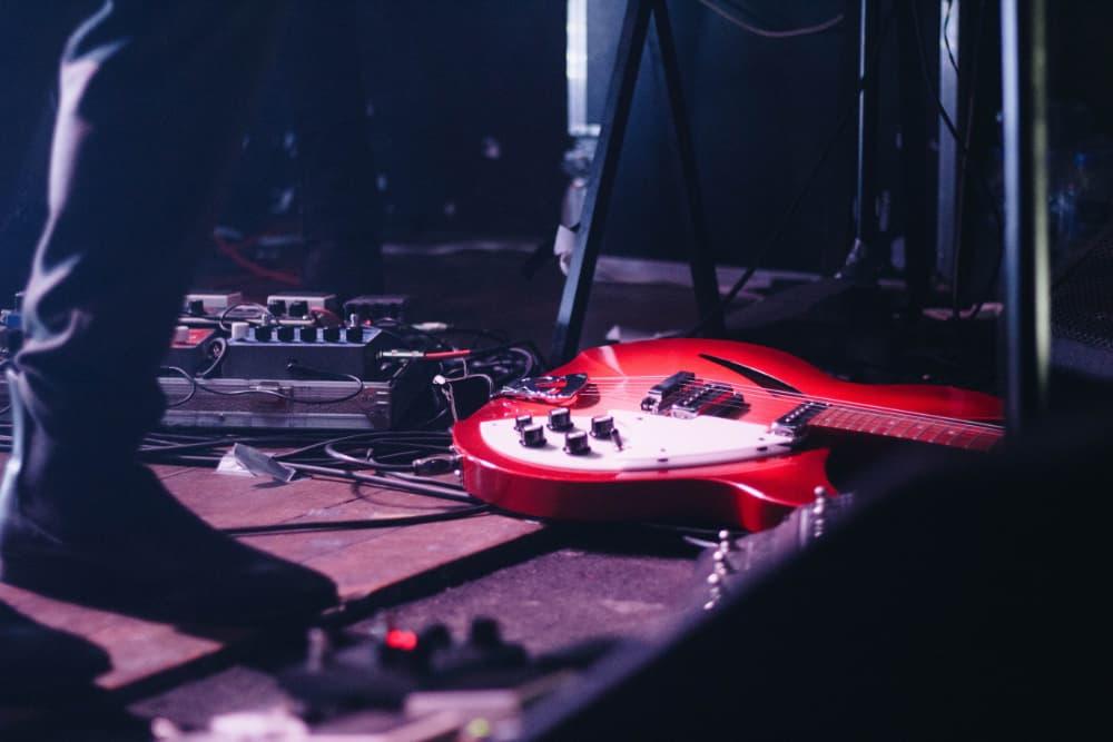 compressor guitar pedals