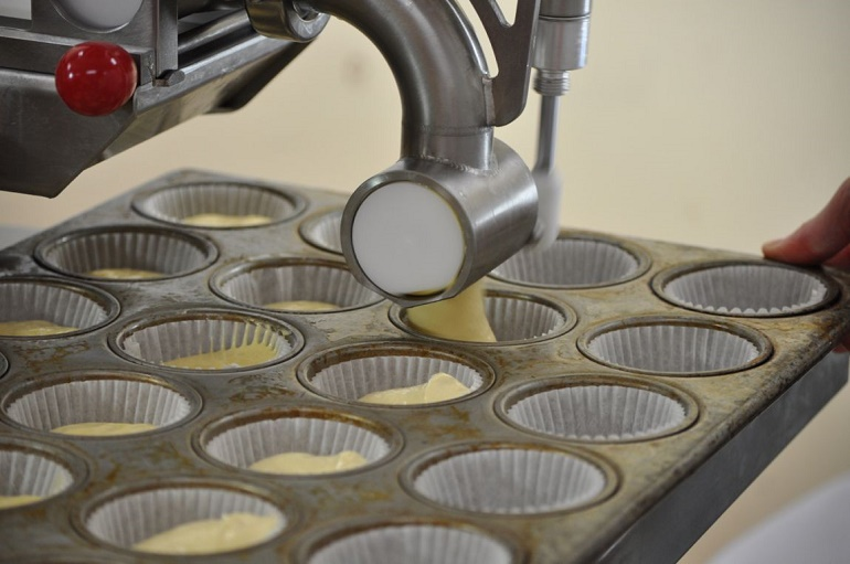 muffin depositor