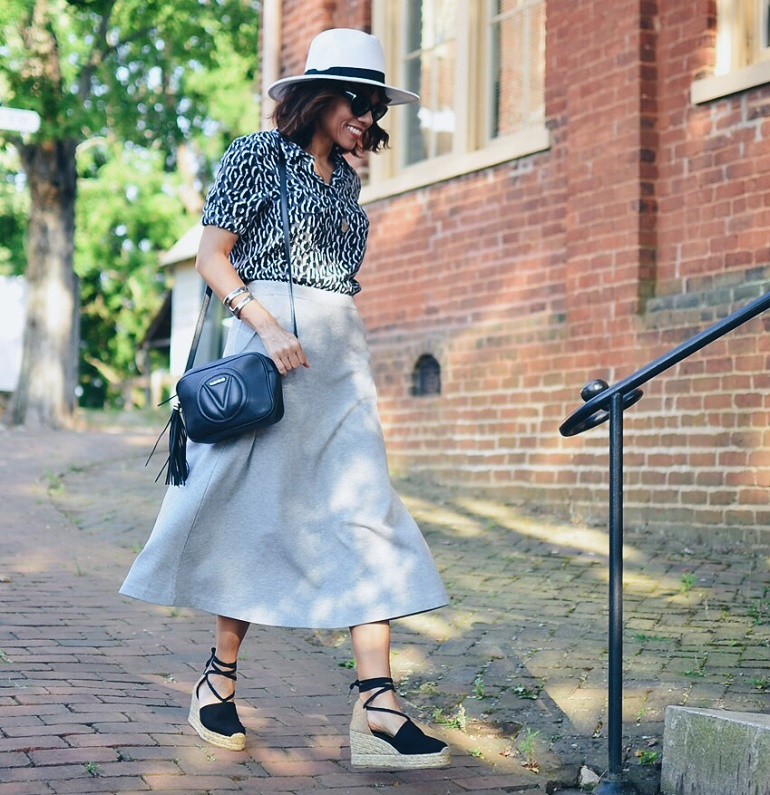long skirts for older ladies