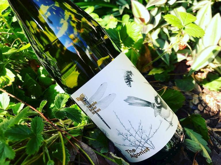biodynamic wine bottle