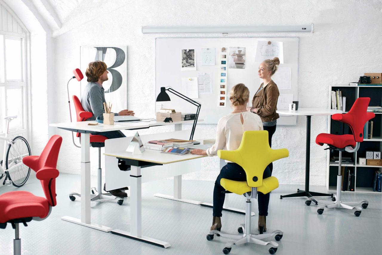 ergonomic office chair colors