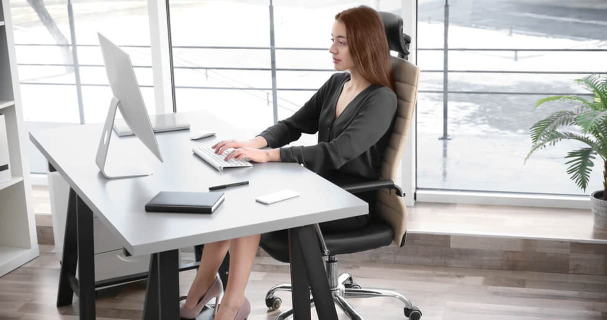 ergonomic office chair lumber support
