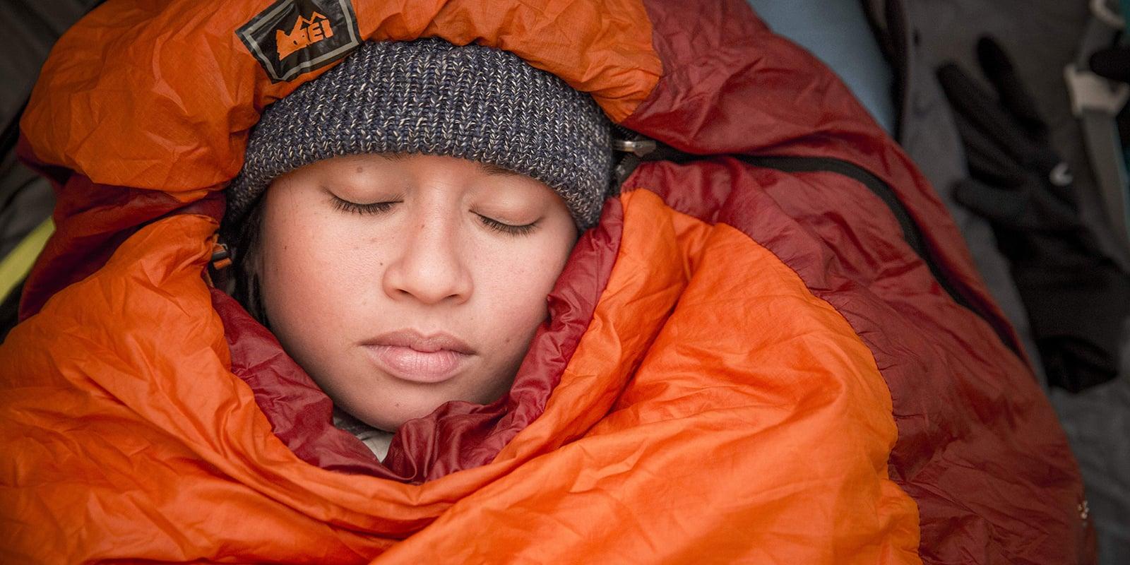 Sleeping in Tent with Earplugs