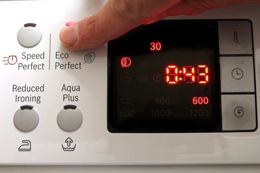 eco laundry machine