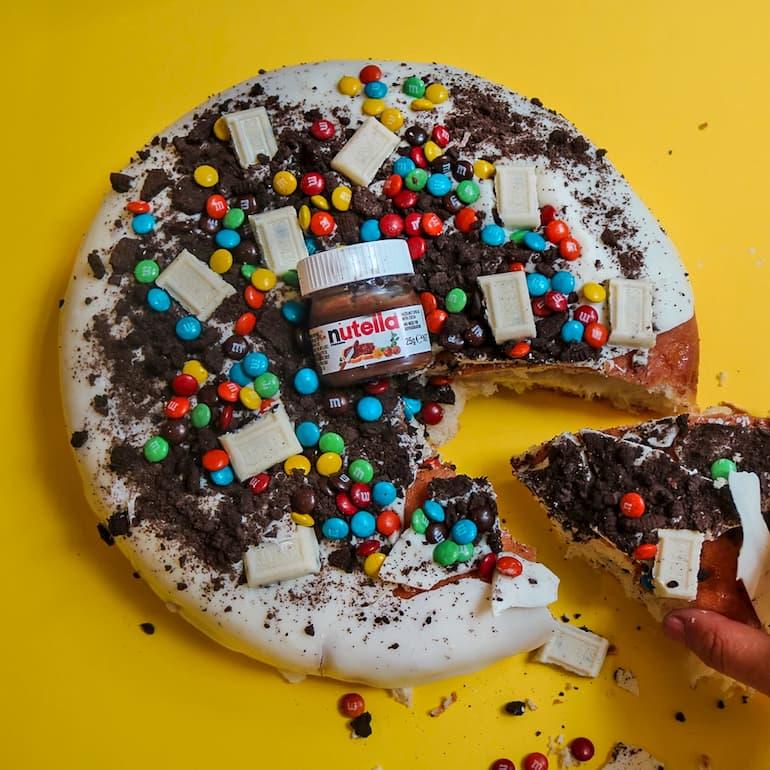 doughnut cake-delicious