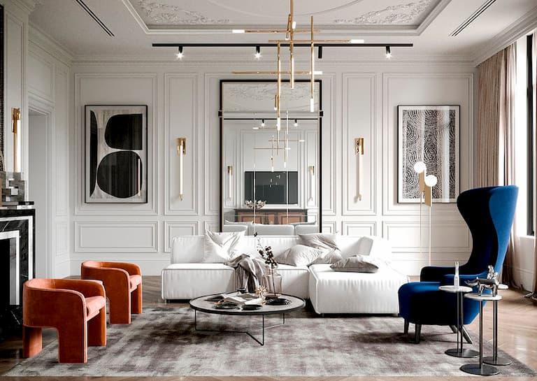 classic modern design for living room