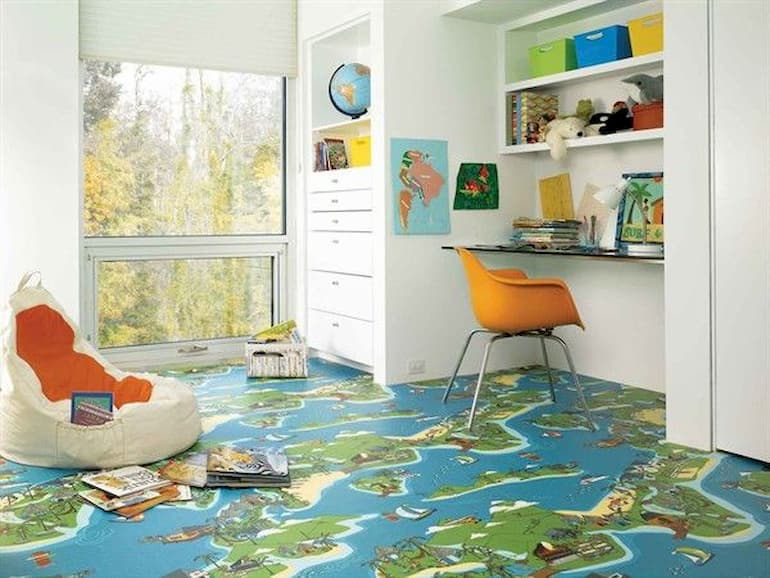 vinyl-flooring-kids-room