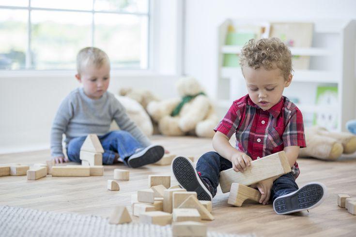 kids park wooden toys