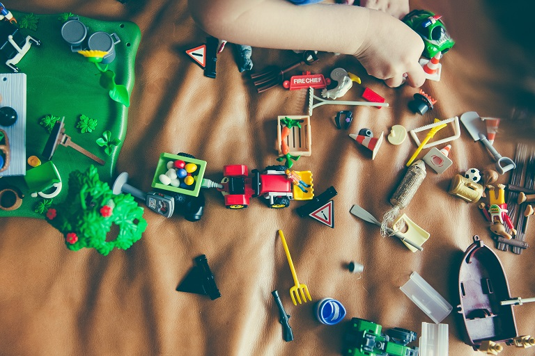 picture of playtime with educational toys