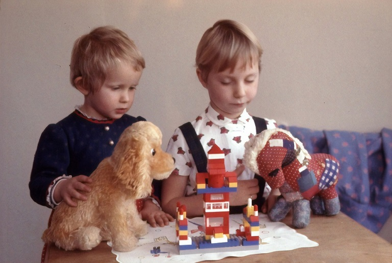 picture of two boys playtime with educational toys