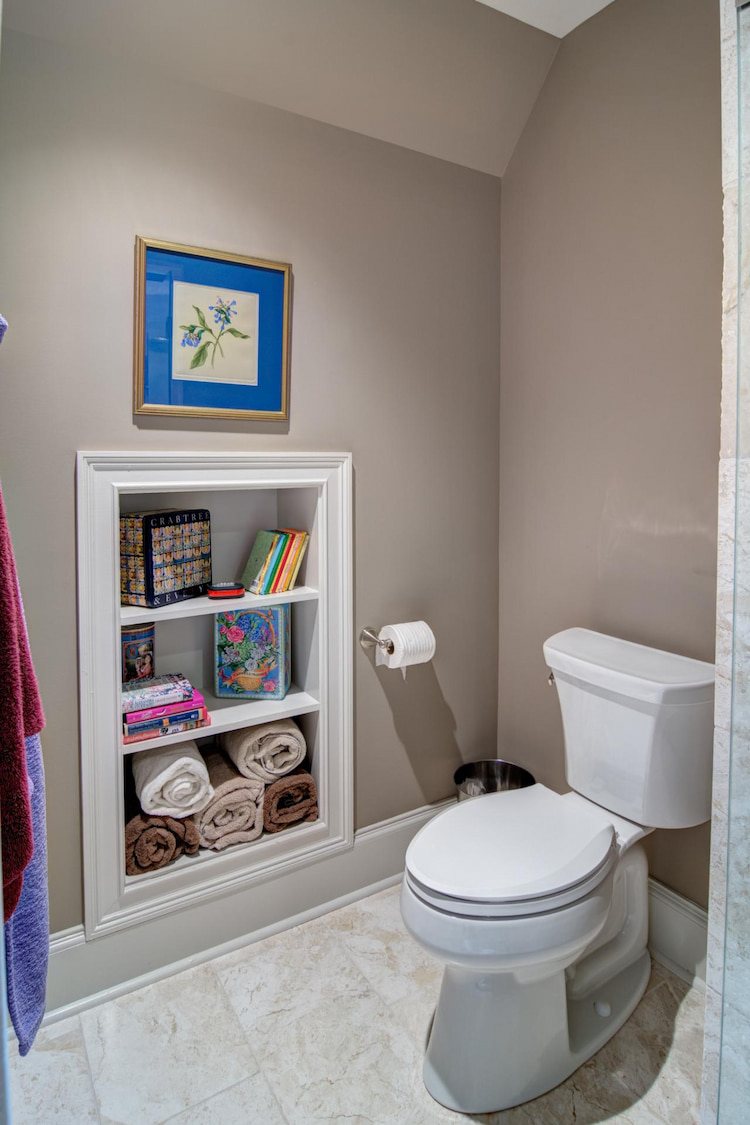 extra storage space for your bathroom