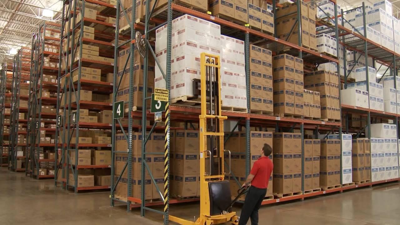 manual stacker warehouse equipment