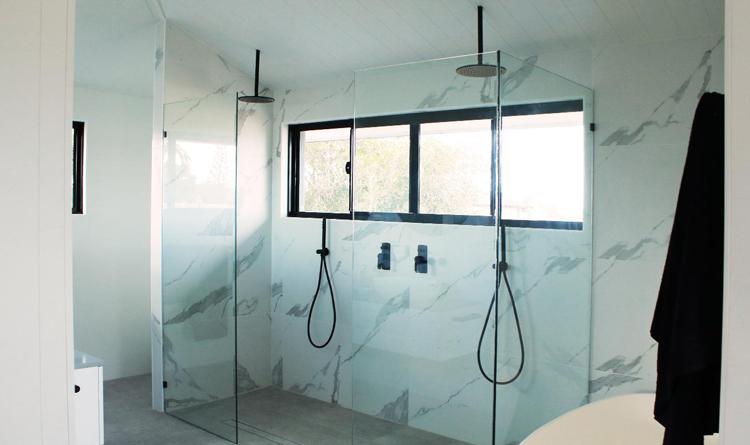 Shower unit reduce water flow