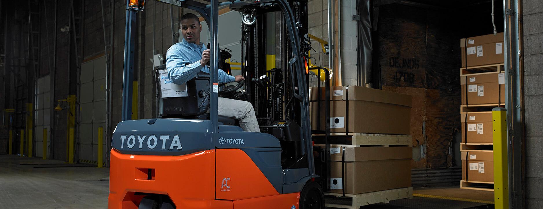 warehouse loading dock manual lift