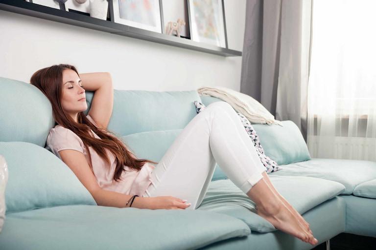 relaxing-woman